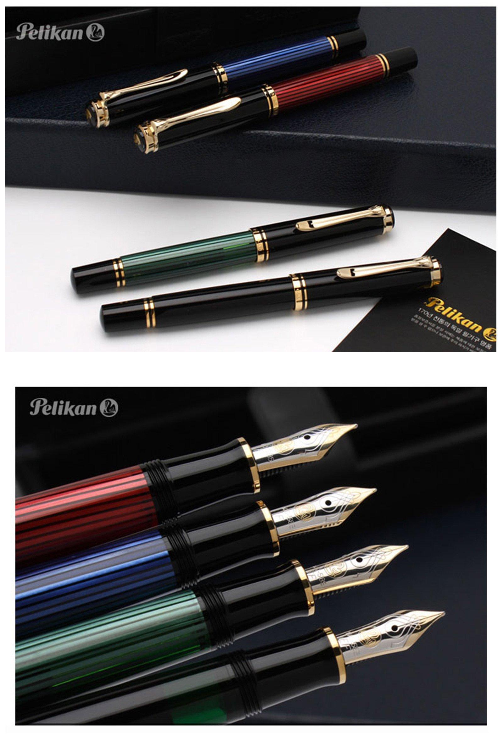 Pelikan 百利金 帝王Soveran14K 钢笔/金笔