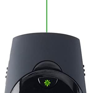 Green Laser Pointer & Backlit Button Controls