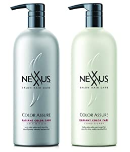 Nexxus Color Assure Shampoo and Conditioner Combo pack is perfect for color treated hair
