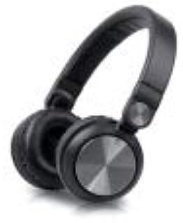 可折叠,可调节耳机,MUSE - (M-190 CF)高性能 40 毫米钕驱动器,深低音,黑色