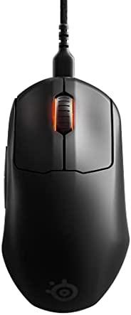 SteelSeries Prime Mini - FPS 游戏鼠标 - USB-C - 5 个可编程按钮 - 光学磁性开关 - 迷你外形