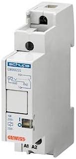 Gewiss GW96613 2P 白色 功率继电器 继电器 (白色)