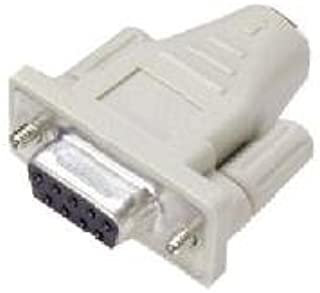 Nilox 鼠标迷你 Din 6 °F/D9 °F 适配器,用于电缆迷你 DIN 6/PS/2 M/F/白色