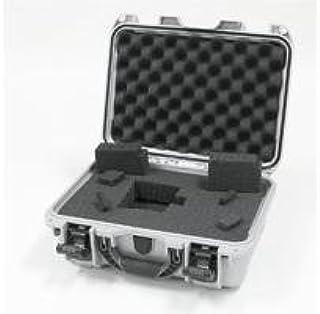 Nanuk 915 Case with Cubed Foam (Silver)