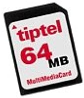 tiptel MMC 4 多媒体卡存储扩展(Plus 4 小时记录)64 MB
