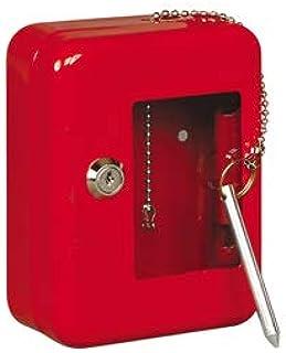 METALPLUS 钥匙箱,用于紧急钥匙,120 x 160 x 60 毫米,4000 / 1Ka,红色