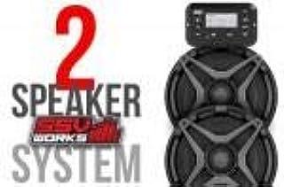 SSV Works RG4-2A 2018 Polaris Ranger XP1000 2 扬声器即插即用套件 SSV Works 扬声器,1 件装