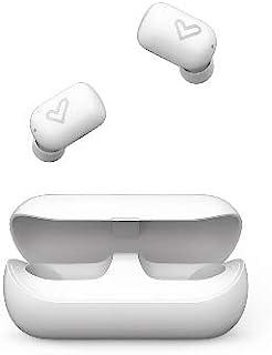 Energy Sistem 耳机 Urban 4 True Wireless Snow (无线蓝牙耳机带蓝牙和真正无线技术,Ipx5,充电盒和触摸控制)雪