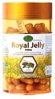 Royal(阿富汗,阿富汗,。) 果冻大自然的国王果冻1000毫克蜂王浆补充剂100粒软胶囊