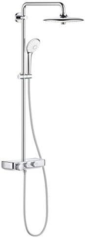 Grohe 高仪 智能控制淋浴系统 铬白 260 mm