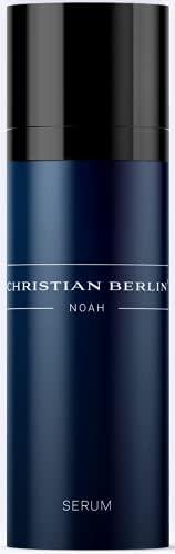 CHRISTIAN BERLIN NOAH 精华,密集滋养胶原蛋白精华,适合男士皮肤,胶原蛋白肽和透明质酸,30毫升