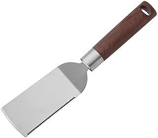 烹饪铲子铲子不锈钢披萨铲子炸鱼铲油铲子(无孔)