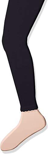 Jefferies Socks 女童小棉质无脚紧身裤带扇形边缘