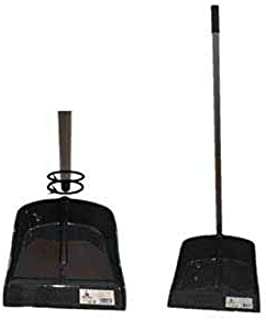 New Idea 厨房铲子 带金属手柄 黑色 24.5 厘米