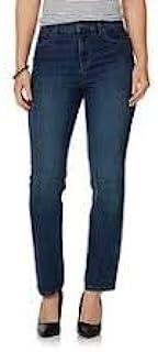 女式修身经典锥形弹力牛仔裤,皇家细丝,平均 24W