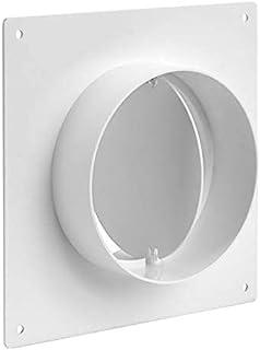 管道连接器法兰,塑料直管法兰,用于加热冷却通风系统(15.24 厘米)