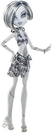Monster High 骷髅海岸黑白弗兰基·斯坦玩偶