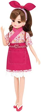 Licca-chan 旋转寿司 幼儿园连衣裙