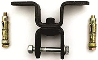 CSI 冲压袋吊钩,用于悬挂袋,带两个螺母和螺栓