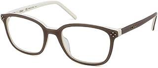 Chloé 女士眼镜框架,棕色,50