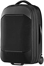 NOMATIC Navigator 随身携带 37L w/ 8L 内置扩展 | 飞机旅行防盗随身携带 | 高级硬壳滚轮行李箱,17 英寸笔记本电脑隔层,黑色