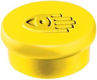 Legamaster 20 毫米磁铁 - 10 个装 黄色