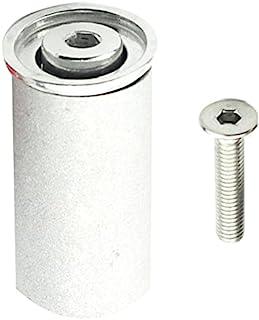 Aceoffix 自行车耳机扩展器插头杆顶盖适用于 31.8 毫米 1 1/4 英寸 OD2 转向器过载碳纤维叉压缩机