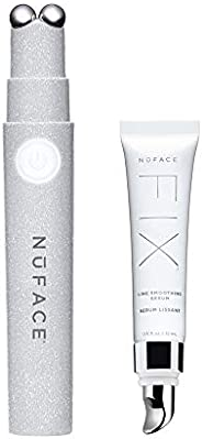 NuFACE NuFACE FIX | 线条平滑仪器 | 针对微电流* | 睫毛膏大小的护肤设备瞬间紧致、光滑、紧致