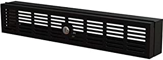 StarTech.com 2U 机架式*盖 - 铰链 - 带钥匙锁 - 与 19 英寸机架(RKSECLK2U)
