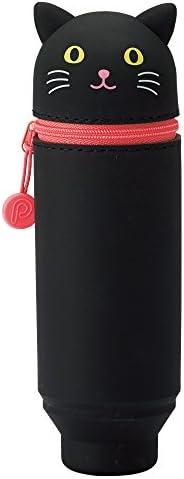 Lihit Lab 立式笔袋 PuniLabo 黑猫 A7712-3