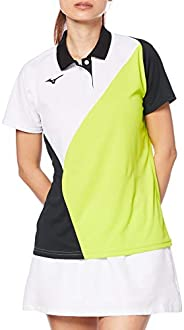 Mizuno 美津浓 网球服 女士比赛衫 短袖 62JA0215