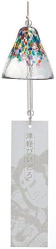 ADERIA 津轻玻璃 风铃 睡袍 *大约7.5×高约7.6厘米 1个盒装 日本制造 F71181