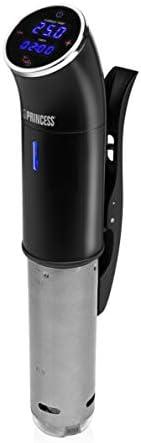 Princess Sous-Vide Stick 精密廚師,帶數字顯示屏,IPX7 防水,25-95°C溫度,1米電纜導線,成品信號,1200瓦,267003