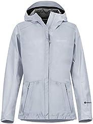 Marmot 女式 Wm's 极简主义夹克,防水 GORE-TEX 夹克,轻质防雨夹克,防风雨衣,透气风衣,非常适合跑