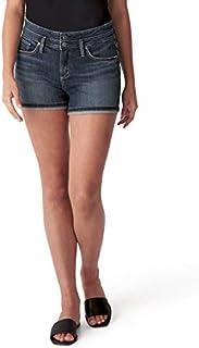 Silver Jeans Co. 女士 Suki 中腰短裤