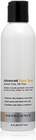 MenScience Androceuticals 高级面部爽肤水,6 液盎司 盎司。