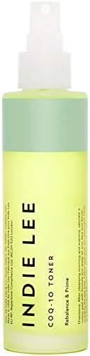 Indie Lee 辅酶Q-10 爽肤喷雾 - 平衡起妆喷雾 含透明质酸、芦荟+洋甘菊 保湿 + 清爽肌肤 (4oz / 125ml)