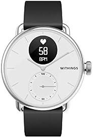 Withings ScanWatch 誕生于法國的智能手表 38毫米款 白色 *長可持續充電30天 心率急劇變化&*中