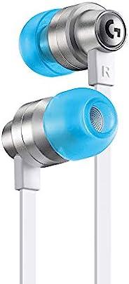 Logitech 罗技 G333 VR 游戏耳机,适用于 Oculus Quest 2 - Oculus Ready - 定制长度的电缆和肩带 - 双驱动器音频专为游戏设计 - 耐用铝外壳