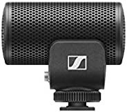 Sennheiser 森海塞尔 Pro Audio MKE 200 电容麦克风,适用于相机和移动设备,黑色 (MKE200)