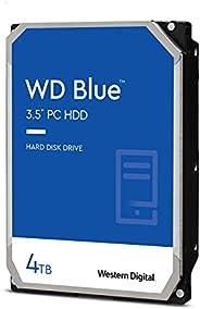 "Western Digital 西部数据 4TB WD Blue PC 硬盘硬盘 - 5400 RPM,SATA 6 Gb/s,256 MB 缓存,3.5""(约8.89厘米)- WD4"