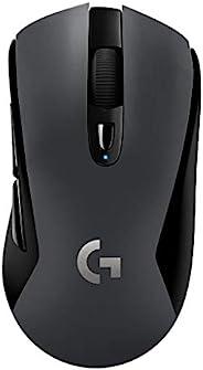 LOGICOOL 羅技 游戲鼠標 無線G603 黑色 LIGHTSPEED 無線藍牙已啟用 游戲鼠標 HERO傳感器