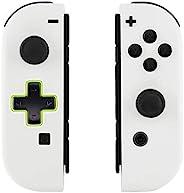 eXtremeRate 背板,适用于任天堂切换控制台,NS Joycon 手持控制器外壳,带全设置按钮,DIY 替换外壳,适用于 Nintendo SwitchJZP303  Joycon Shell and Butto