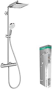 Hansgrohe 汉斯格雅 Crometta 柯洛梅达 E 240淋浴系统 单速 革新型 镀铬