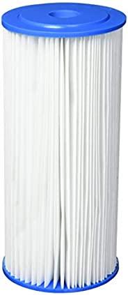 Tier1 Pentek R30-BB 30 微米10 x 4.5 褶皱涤纶沉淀物滤水器 25 件装 白色 1包 R30-934
