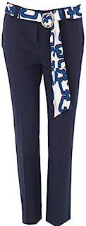 Morgan Pantalon Uni Avec Ceinture Piloua 女士长裤