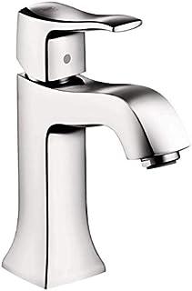 Hansgrohe 31077001 Metris C Single-Hole Faucet Without Pop-Up, Chrome