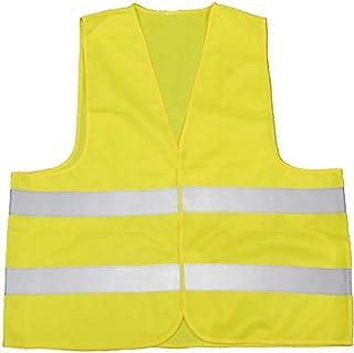 警告背心,警告背心,黄色 XL