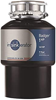 InSinkErator 79024-ISE 垃圾处理机,Bad 1 HP连续进纸,黑色