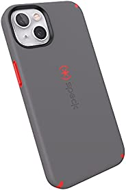 Speck Products CandyShell Pro iPhone 13 手机壳,Moody Grey/Turbo Red